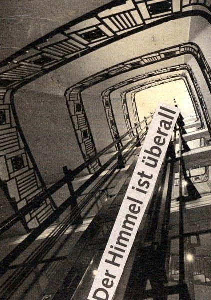 Postkarte | der Himmel ist überall von sentimentaleslied auf DaWanda.com