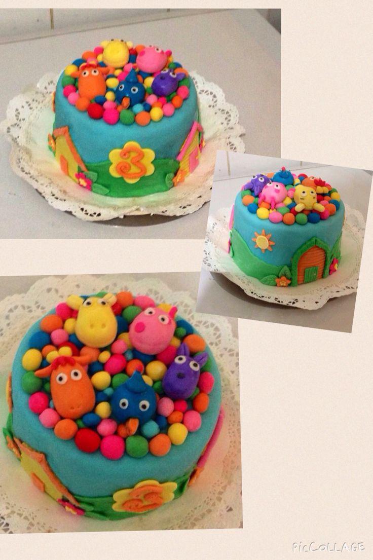 Torta backyardigans - Romina Isella