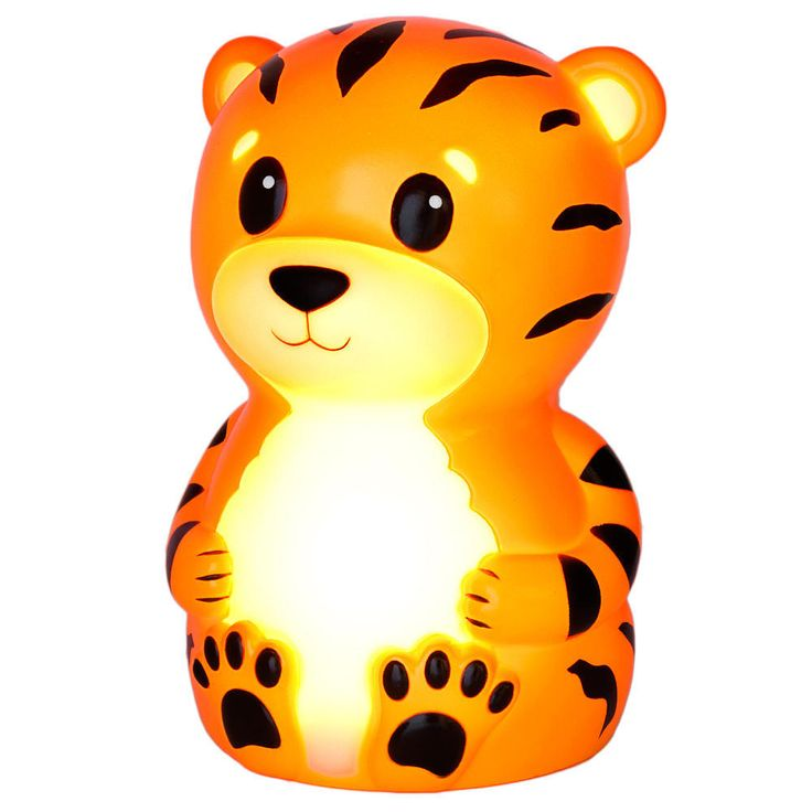 Onaroo Terry the Tiger Portable Night-Light with Rainbow Color Change, TIG131US from American Innovative - The Bump Baby Registry Catalog