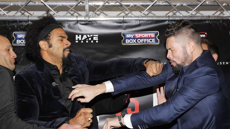 MAX SPORTS: BOXING: DAVID HAYE AND TONY BELLEW BACK IN THE RIN...