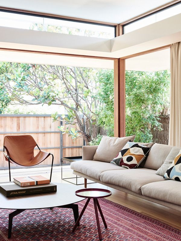 The Sydney home of Daniel North and Catherine Downie. Photo – Eve Wilson, production – Lucy Feagins / The Design Files.