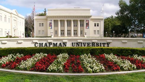 1. The only campus that actually looks like its in Southern California | 10 Reasons Chapman University Is The Best School In America