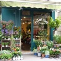 Paris Fall September Seminar 2013 - Flower shop walk