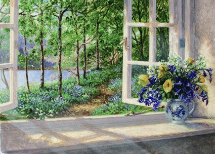 Summer Paintings by Stephen Darbishire, contemporary British artists, oil painting, canvas painting