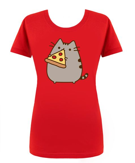Pizza + Pusheen = Best T-shirt Ever