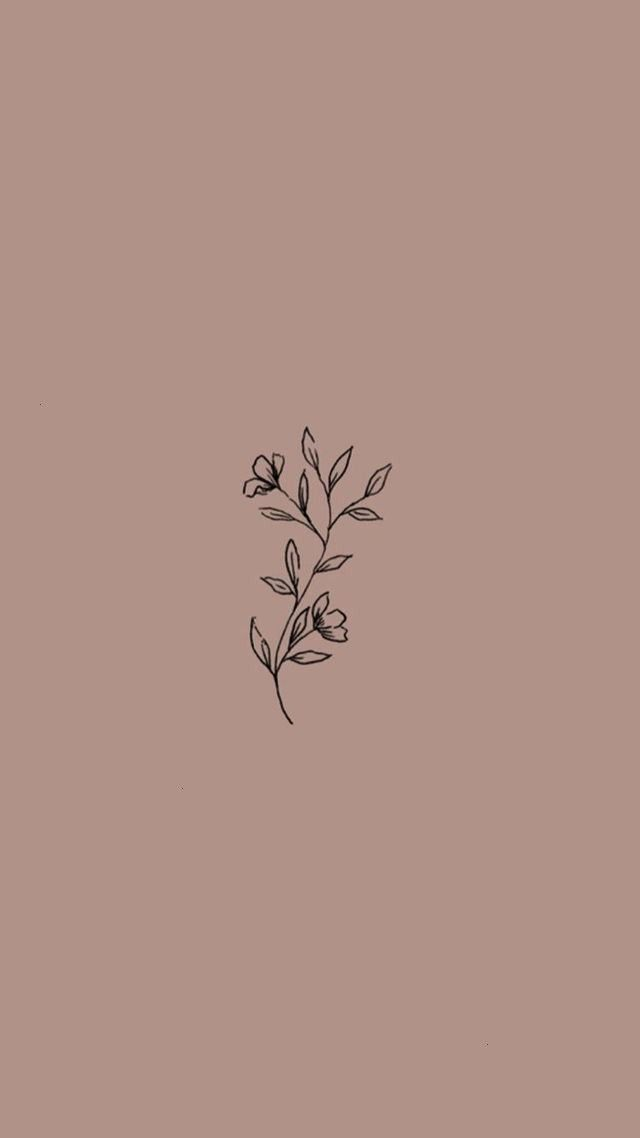 Phonewallpaperquotes Wallpaper Aesthetic Android Flowers Simple Iphone Pretty Floral Phone Plant Instagram Wallpaper Instagram Prints Instagram Logo