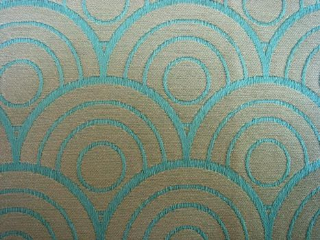 Art Deco Fabric Interesting Color And Pattern For Dining Room Chairs