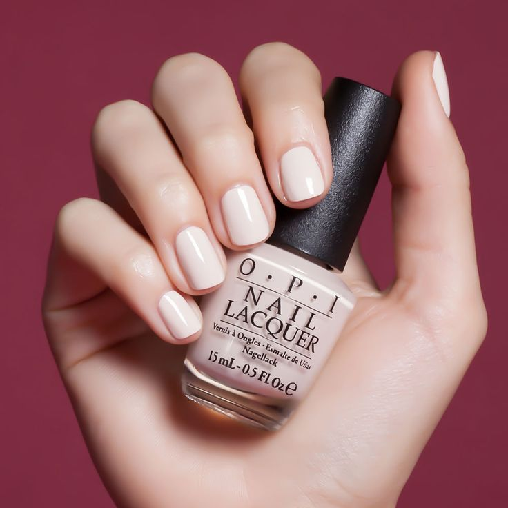 Be There in a Prosecco | OPI. Opaque cream color, available in gel!