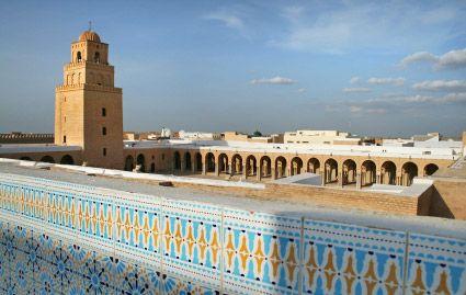 Kairouan : la grande mosquée