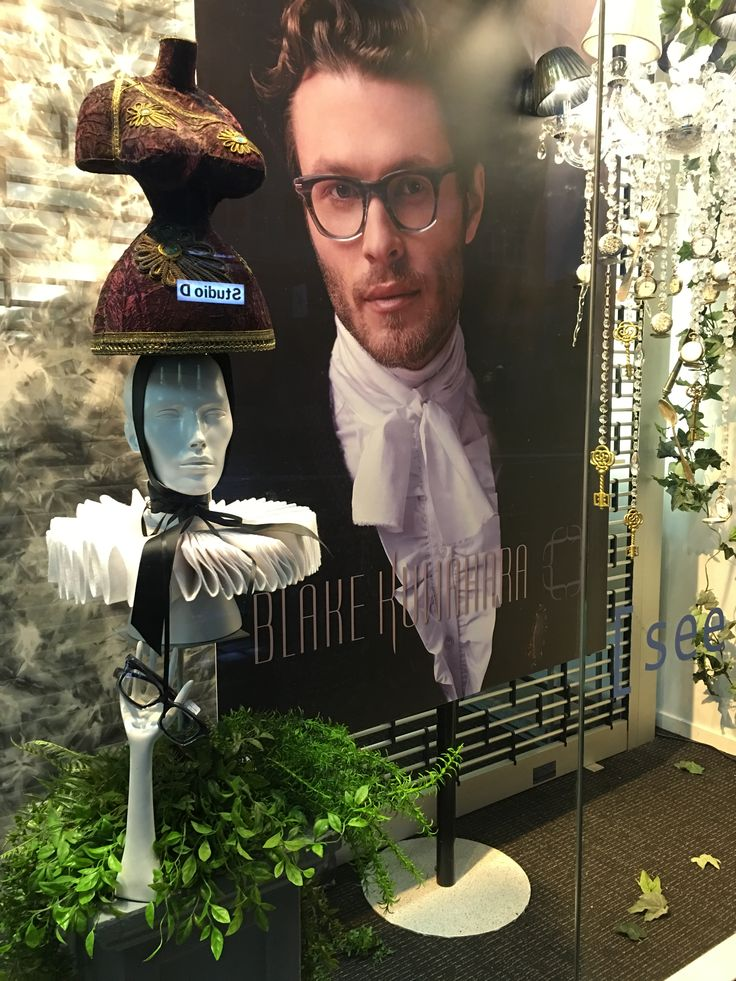 """GATES EYEWEAR, Newmarket, Auckland, New Zealand, """"Simple and sleek, yet with a subtle but obvious edge"""", for Blake Kuwahara Eyewear, created by Ton van der Veer"""