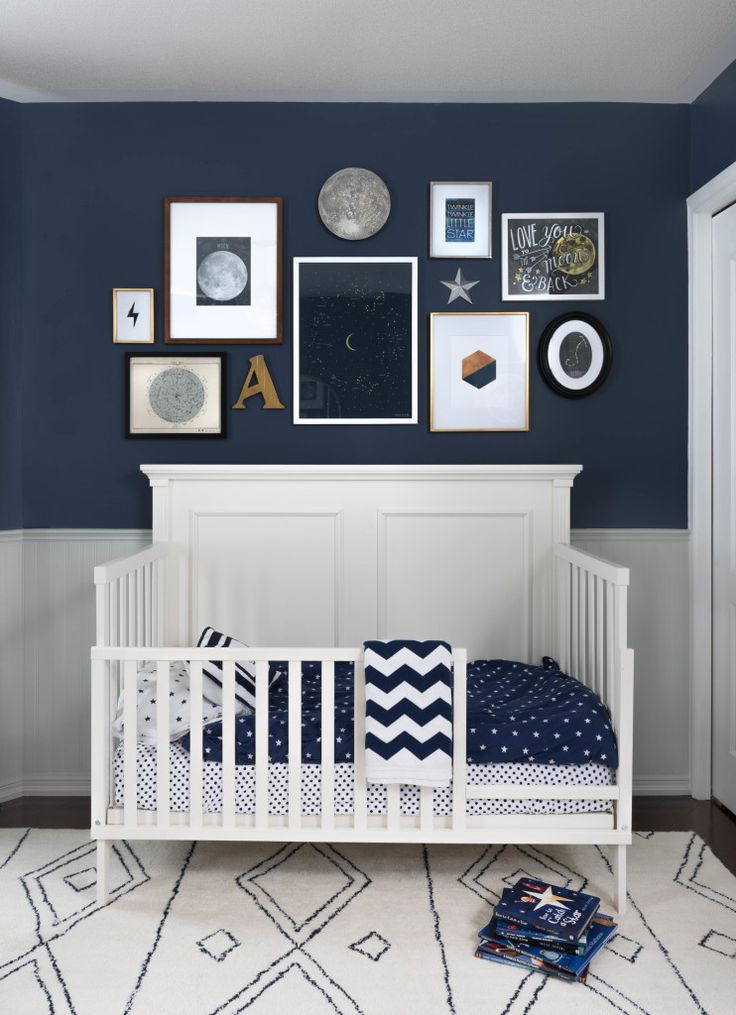 799 best boy baby blue rooms images on pinterest baby for Blue and white boys room