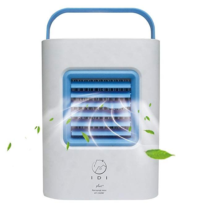 Fancywing Portable Air Cooler Fan Usb Powered Personal Air Conditioner Humidifier And Purifier Desktop Cooling F Portable Air Cooler Air Cooler Fan Air Cooler