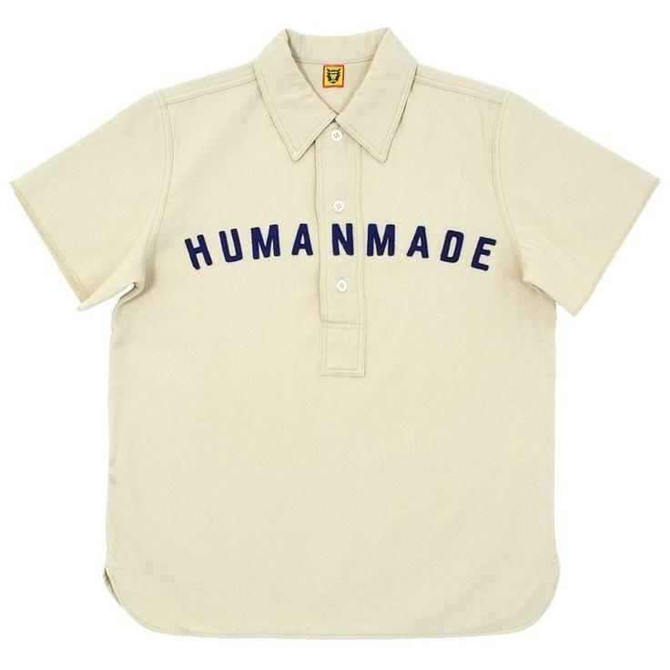 Human Made Baseball Shirt (Cotton Serge)