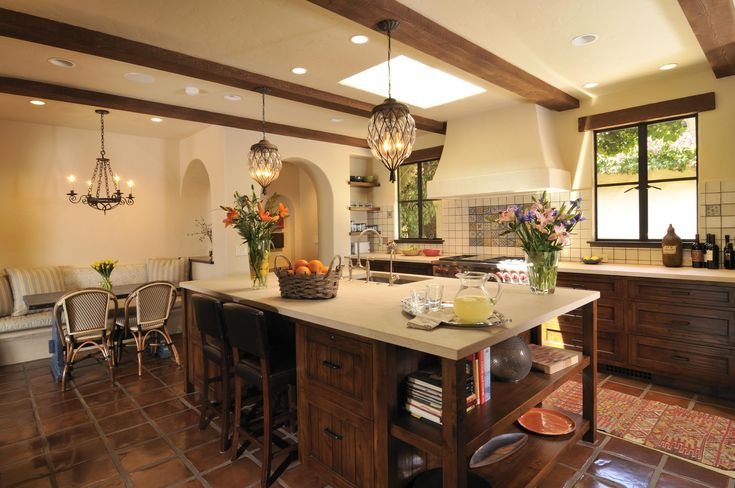 Spanish Kitchens #4 - Spanish Colonial Revival Kitchen | Home ...