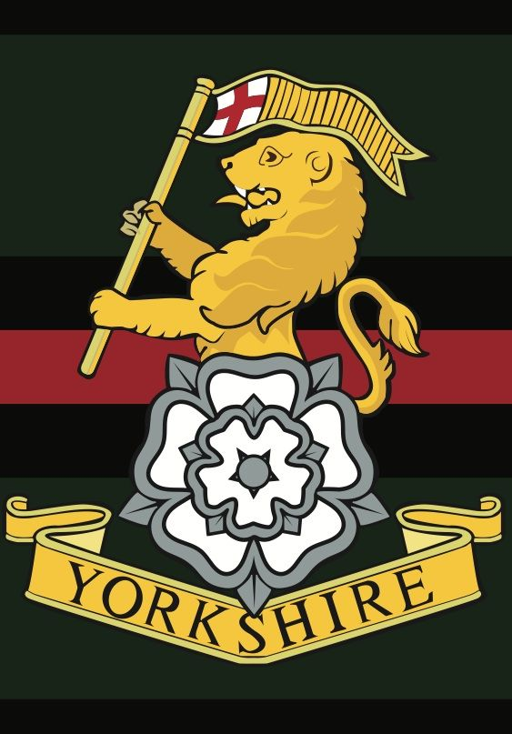The Yorkshire Regiment YORKS is an infantry regiment of the British Army, created by the amalgamation of three historic regiments in 2006. It is currently the only line infantry or rifles unit to represent a single geographical county in the new infantry structure, serving as the county regiment of Yorkshire.