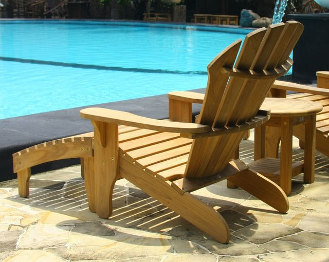 douglas nance atlantic adirondack chair 6 seat group traditional outdoor chairs - Garden Furniture Traditional