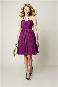 Kennedy Blue Bridesmaid Dress Sydney / 28104- Chiffon- The Wedding Shoppe Inc.
