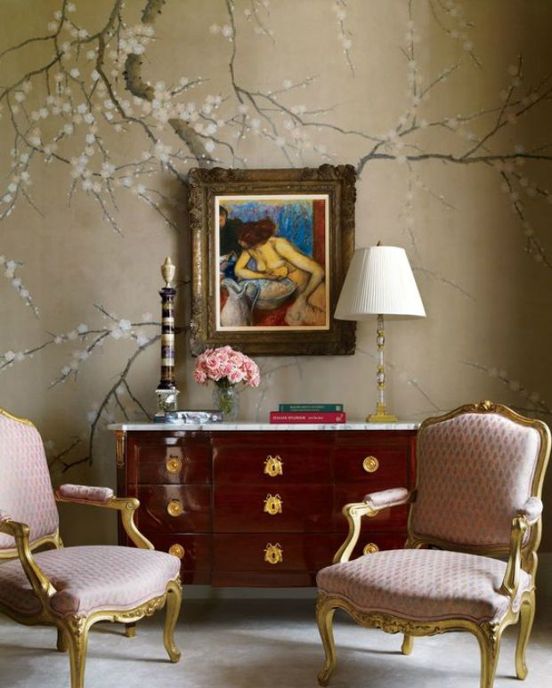123 best dramatic wall coverings images on pinterest