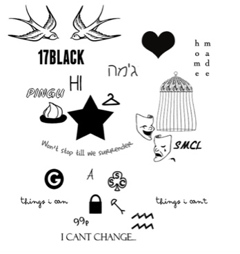 All Of Harry Styles Tattoos Tumblr 17 Best images about T...