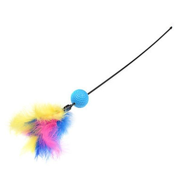 2.68$  Watch here - http://diy9u.justgood.pw/go.php?t=172999701 - Chic Quality Lantern Feathers Design Make Cat Bar Pet Toy
