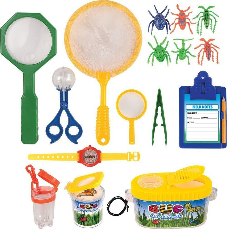 Kangaroos Insect Bug Adventure Set; 18 Pc Backyard Exploration Kit