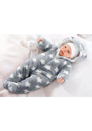 Комбинезон из плюша для новорожденных своими руками