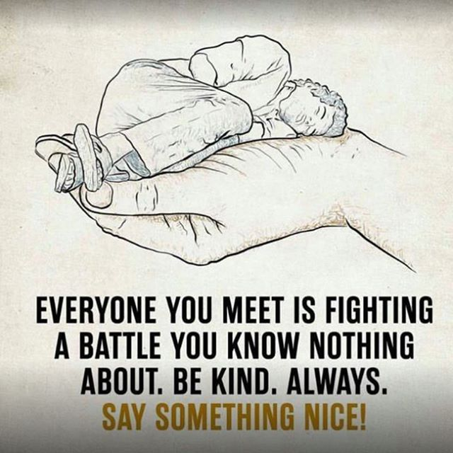 Be kind. Always. Say something Nice! #Bekind #Benice #Positivelife #MDUB