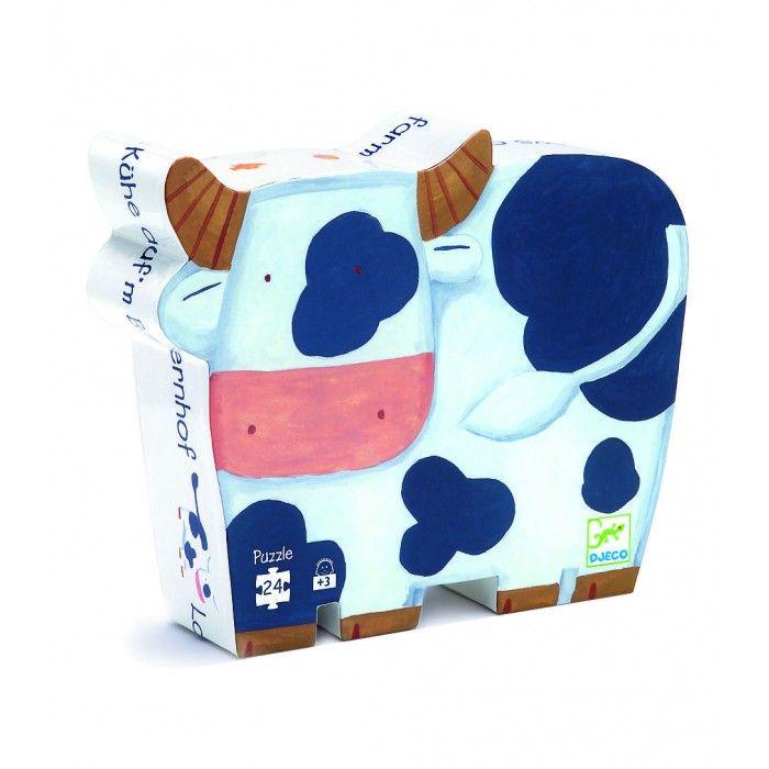 Cows on Farm 24 Piece Puzzle | Djeco | DJ07205
