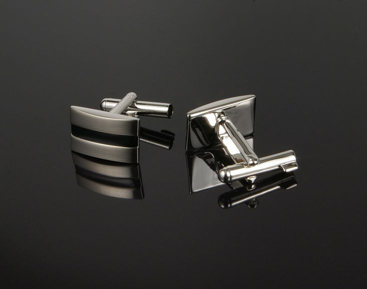 Uncuff Cufflinks in Silver - cufflinks with built in handcuff key! www.cufflinked.com.au