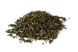 Té verde con menta. Peso: 100 gr. Certificado biológico. El auténtico té moruno. Té verde de primera calidad de India con hojas de menta cultivadas en Egipto. Se vende a granel en bolsa de 100 gr. Ingredientes: té verde, menta.