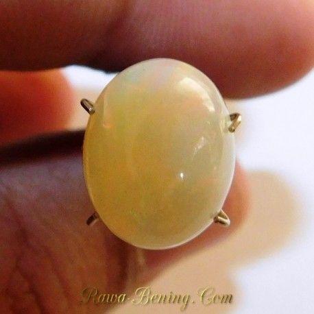 Natural Opal Pelangi Hijau 3.30 Carat