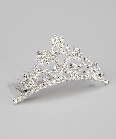Take a look at this Translucent Sparkle Tiara by Sparkle Adventure on #zulily today!