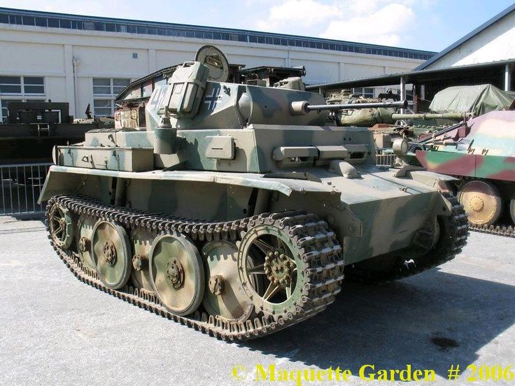 Panzer II ausf L (Luchs)