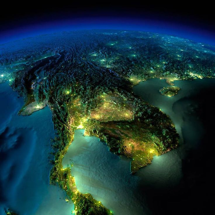 SE Asia from above