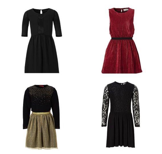 De mooiste kerstoutfits. Stijlvolle en klassieke jurken voor meisjes. Inclusief winactie!