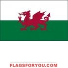 2' x 3' Wales High Wind, US Made Flag