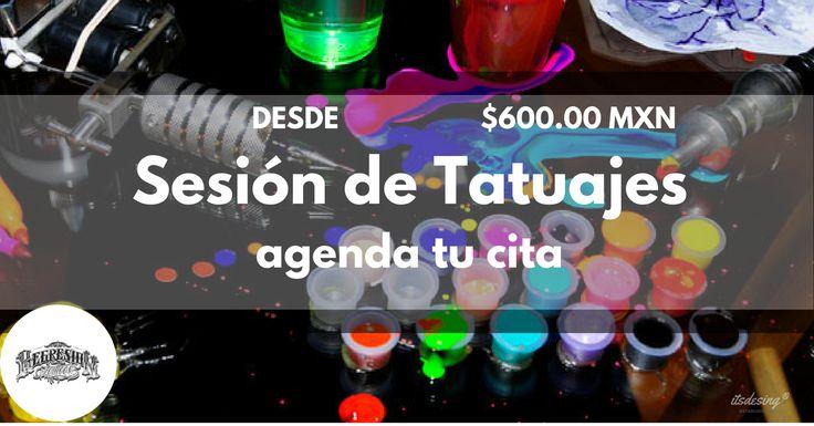 ¡TATUAJES A MESES SIN INTERESES! #RegresionTattoo comprende que muchas veces tú decisión de inmortalizar eso que siempre soñaste llevar en la piel se ve afectado por la falta de recursos para tus sesiones, por eso traemos para ti las sesiones de tatuaje desde $600.00 MXN* PREGUNTA POR TU DISEÑO y nuestras FACILIDADES a #MesesSinIntereses Hugo Cabrera diseñador y artista independiente pone a tu disposición una gama de estilos de diferentes en técnicas de tatuajes, que van desde #Realismo…