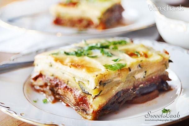 Vegetariánska moussaka - Recept