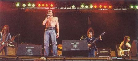 AC/DC - Reading Rock '76. Reading, England, United Kingdom. August 29, 1976.