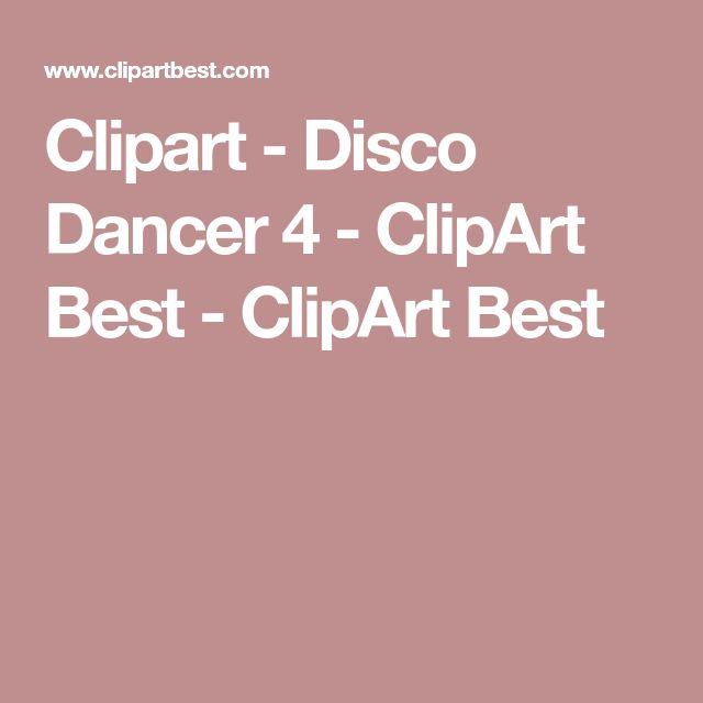Clipart - Disco Dancer 4 - ClipArt Best - ClipArt Best
