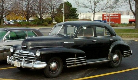 1948 chevy 4 door sedan my great grandfather had one passed to my grandfather and then onto