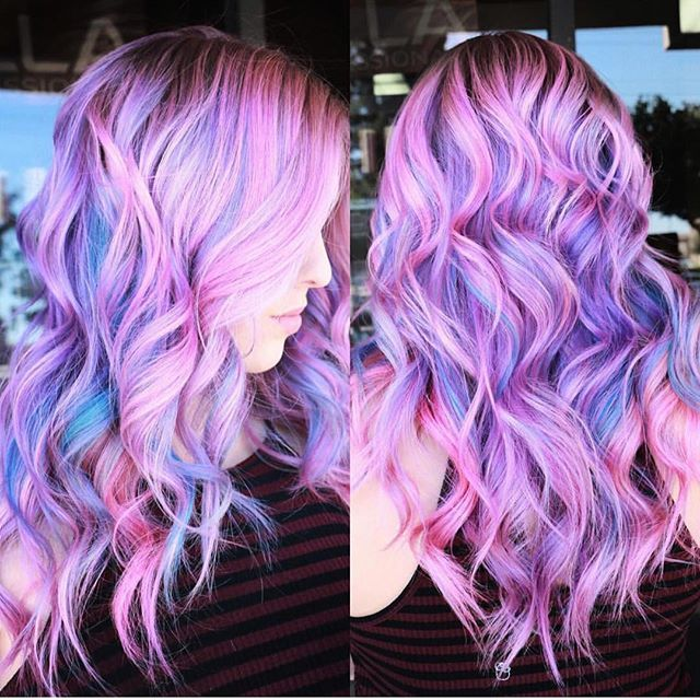 cotton candy unicorn | hair colors // pinterest: joiespooks