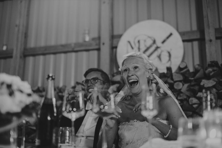 Reaction to a speech. http://johannahietanen.com/wedding/kustavi-wedding-preview/
