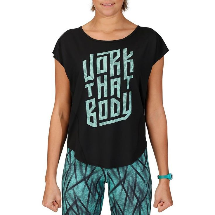 FITNESS Fitness Fitness, Musculation - T-shirt ample ENERGY fitness DOMYOS - Vêtements Fitness