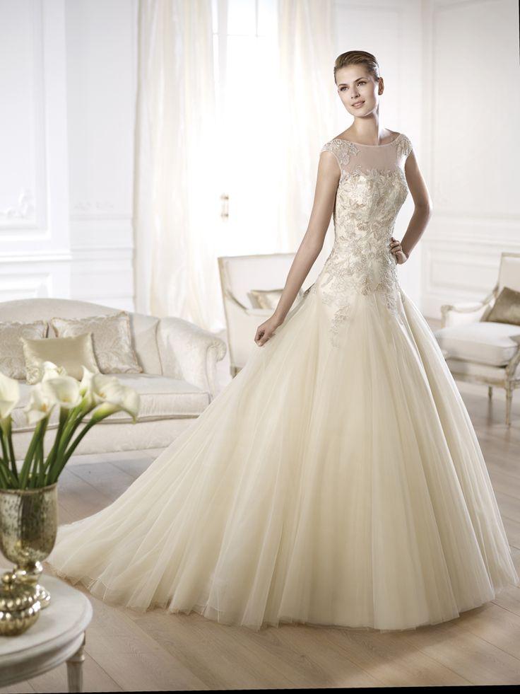 47 besten Pronovias Bilder auf Pinterest | Hochzeitskleider ...