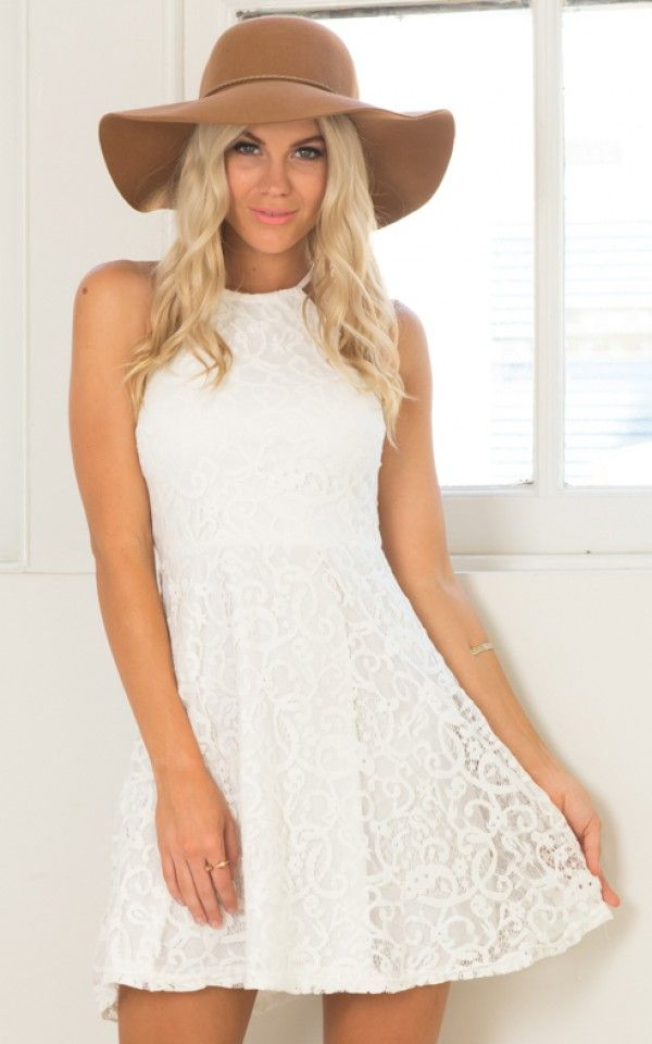 Dream Come True dress in White Lace