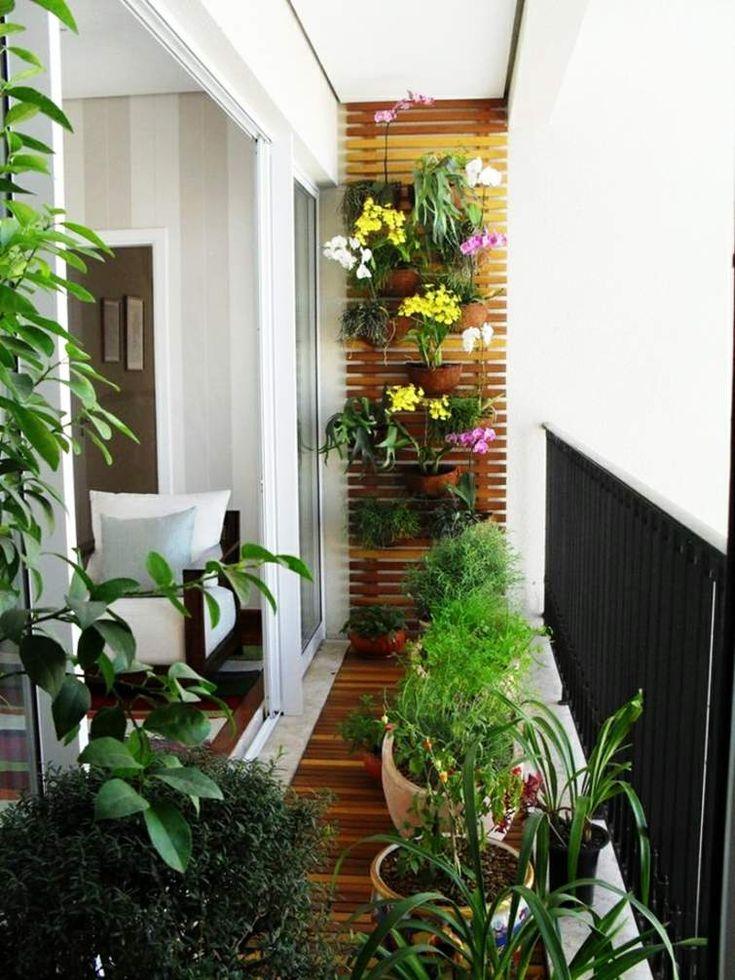 Pinterest Idées Créatives aménagement petit balcon | Décoration balcon: 99 idées aménagement petits espaces -