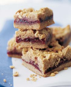 Peanut Butter & Jelly Bars from Ina Garten