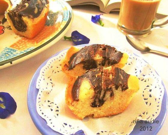 D a p u r     M a n i s: EGGLESS MARBLE CAKE