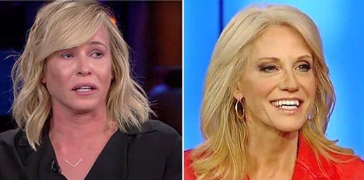 Sane women slam 'jealous' comedian Chelsea Handler for 'sick' tweet about Kellyanne Conway